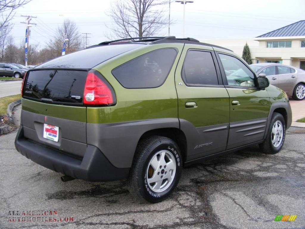 2001 Pontiac Aztek Gt Awd In Citrus Green Metallic Photo