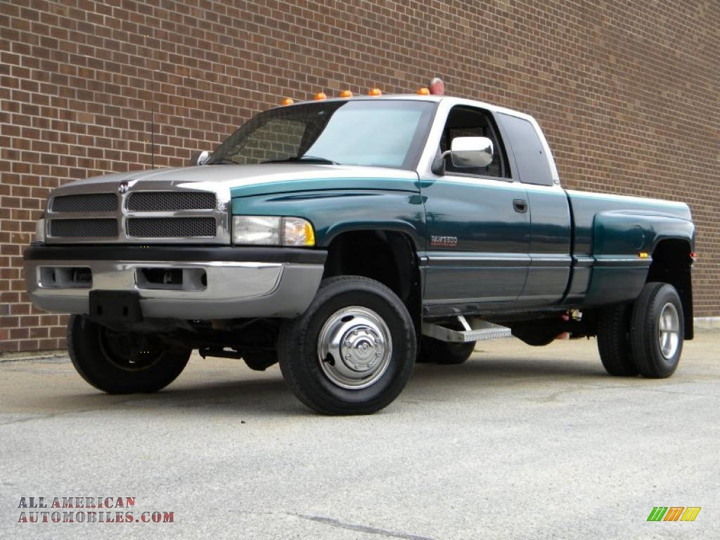 1997 dodge ram 3500 laramie extended cab 4x4 dually in bright jade metallic photo 72 506475. Black Bedroom Furniture Sets. Home Design Ideas