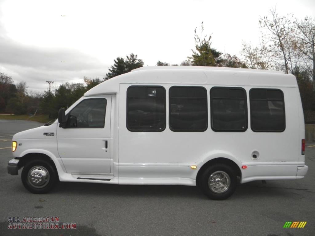 White Passenger Van Commercial Passenger Van