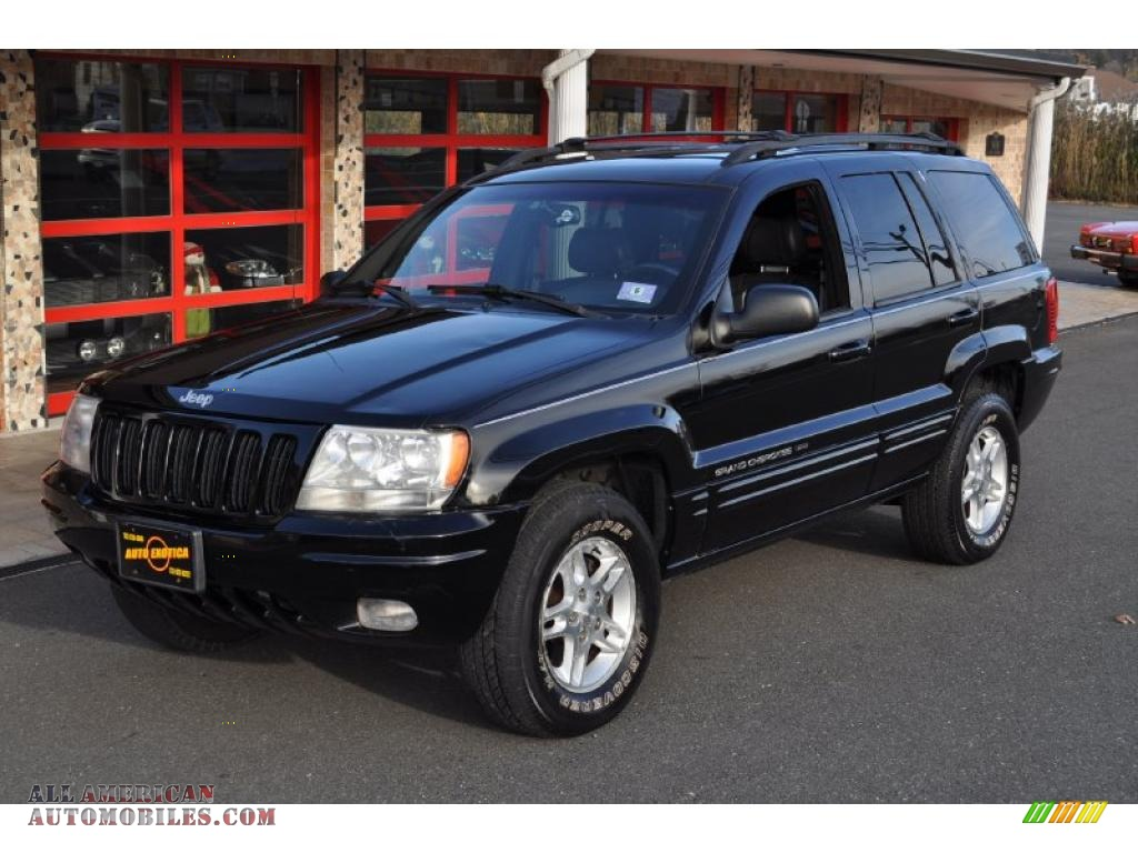 2000 Jeep Grand Cherokee Limited 4x4 In Black Photo 6