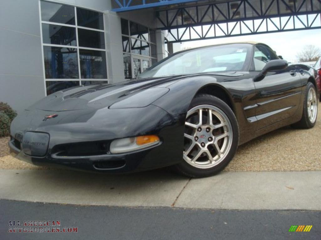 1999 chevrolet corvette convertible in black photo 12 Tysinger motor company