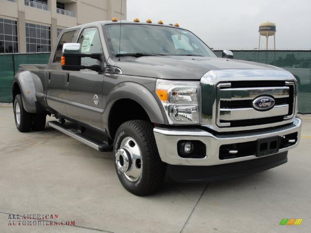 2011 ford f350 super duty xlt crew cab 4x4 dually in sterling gray metallic b30979 all. Black Bedroom Furniture Sets. Home Design Ideas