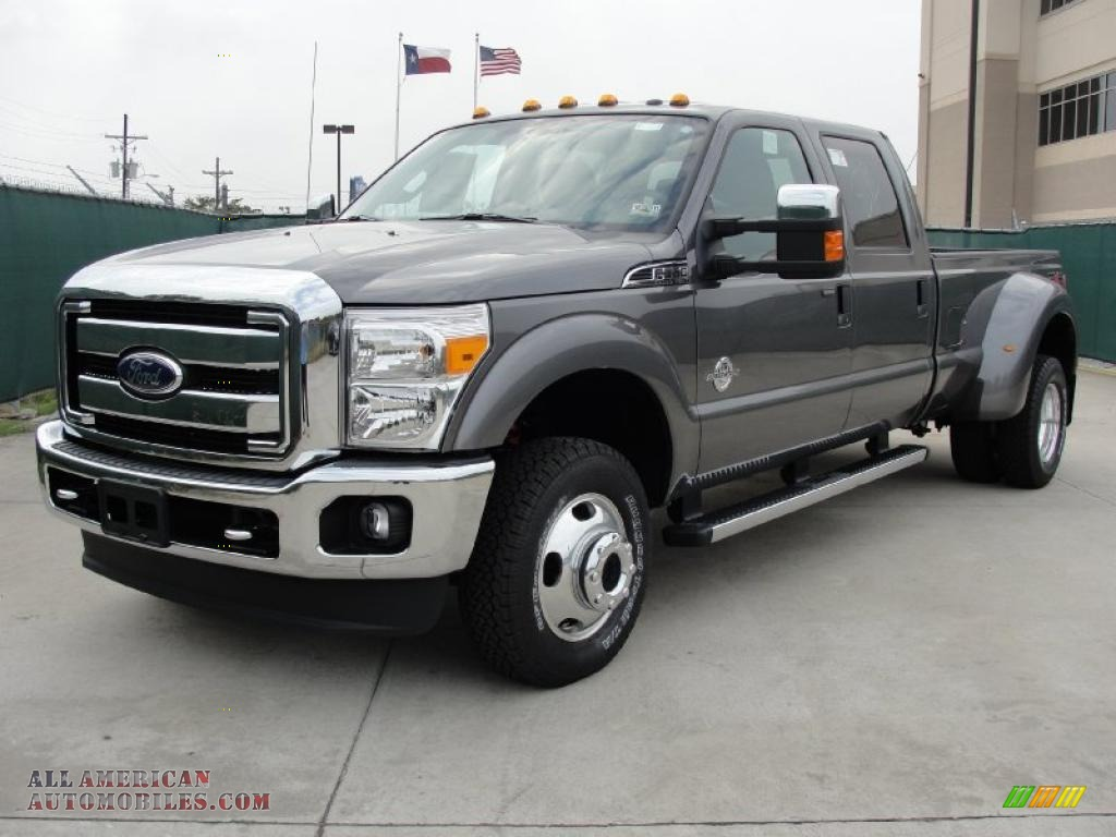 2011 ford f350 super duty xlt crew cab 4x4 dually in sterling gray metallic photo 7 b30979. Black Bedroom Furniture Sets. Home Design Ideas