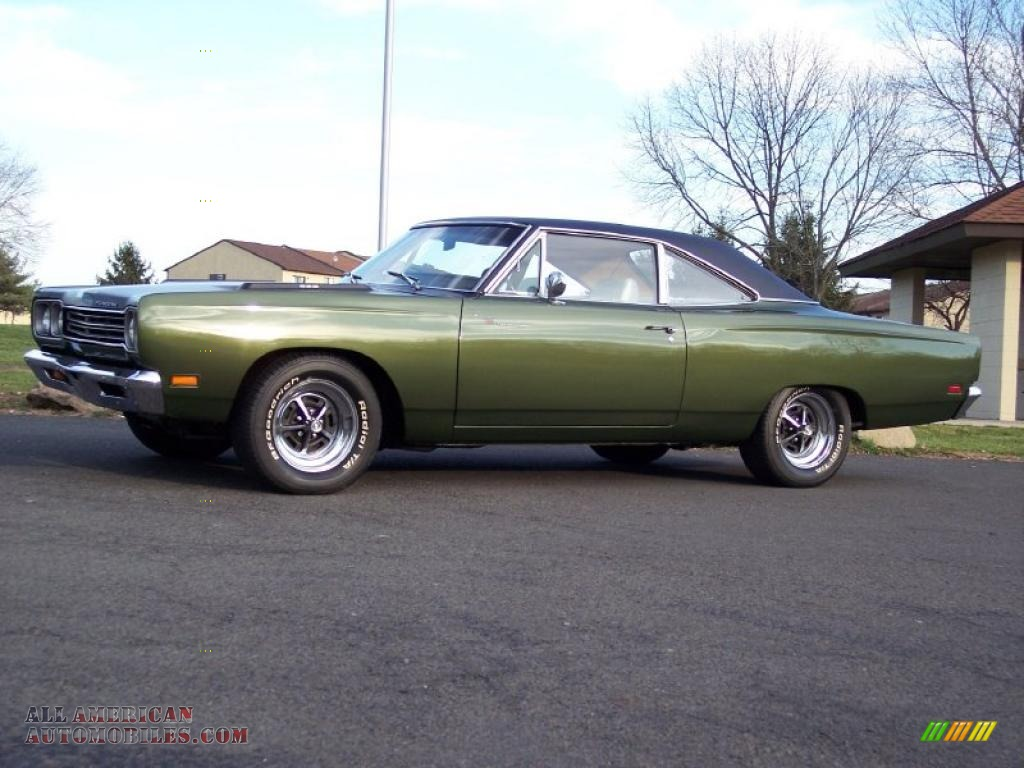 Ron Lewis Dodge >> 1969 Plymouth Road Runner 2 Door Coupe in Limelight Green Poly photo #10 - 310286 | All American ...