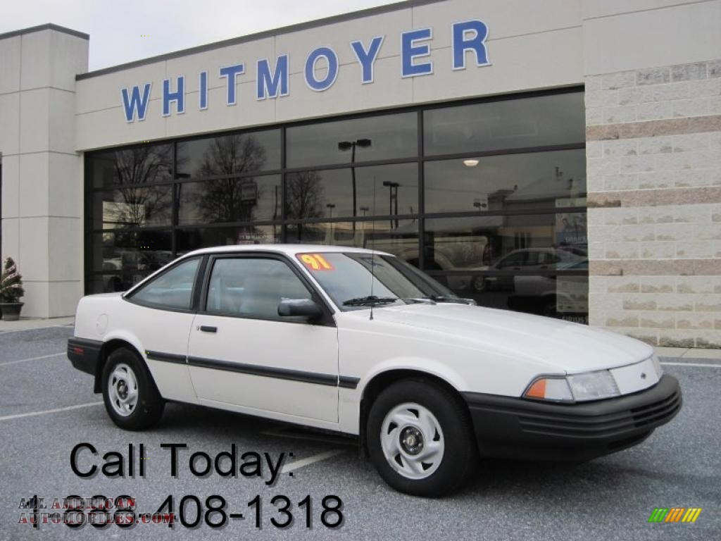 1991 Chevrolet Cavalier Coupe In White Photo 8 210515