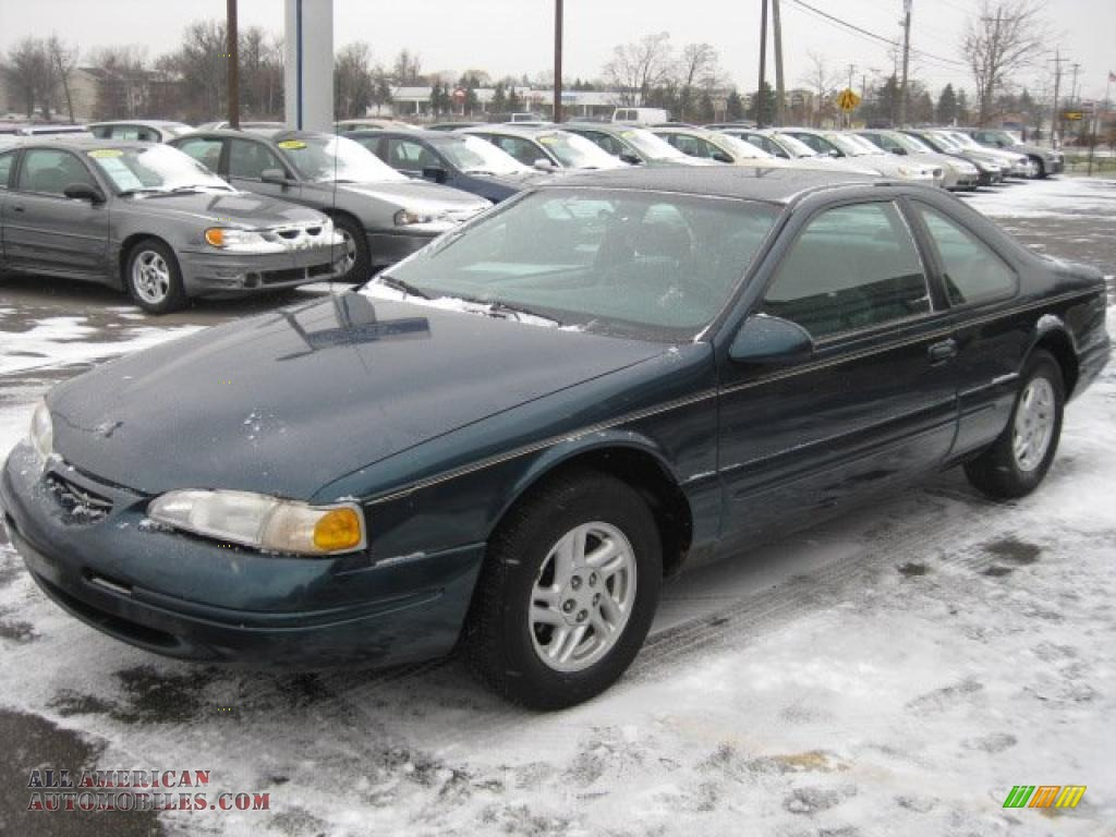 1997 ford thunderbird lx coupe in alpine green metallic. Cars Review. Best American Auto & Cars Review