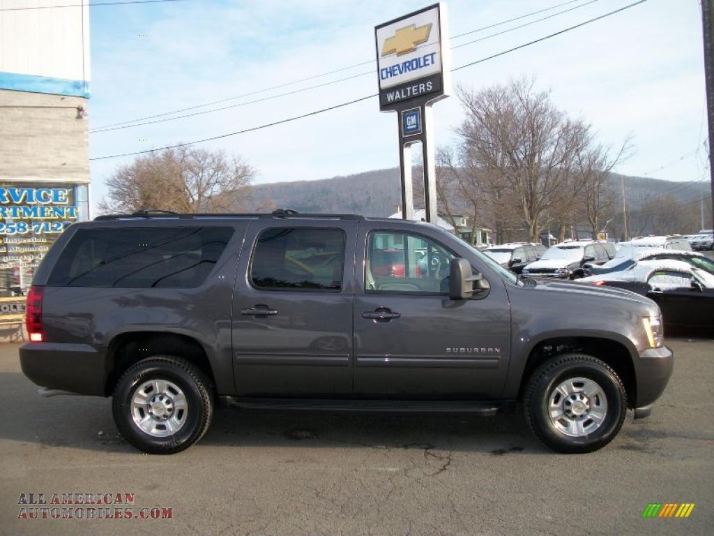2011 Chevrolet Suburban 2500 Lt 4x4 In Taupe Gray Metallic