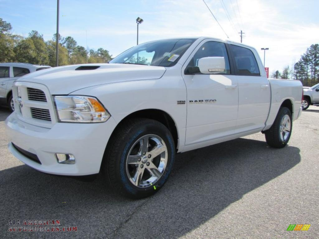 2011 dodge ram 1500 sport crew cab in bright white photo 3 579598 all american automobiles. Black Bedroom Furniture Sets. Home Design Ideas