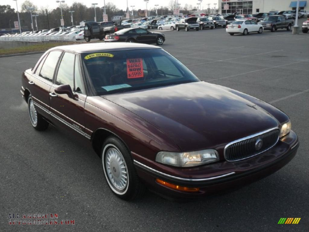 1999 buick lesabre custom sedan in bordeaux red pearl photo 5 402937 all american. Black Bedroom Furniture Sets. Home Design Ideas