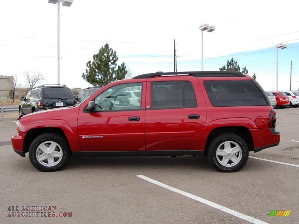 2003 Chevrolet Trailblazer Ext Lt 4x4 In Majestic Red