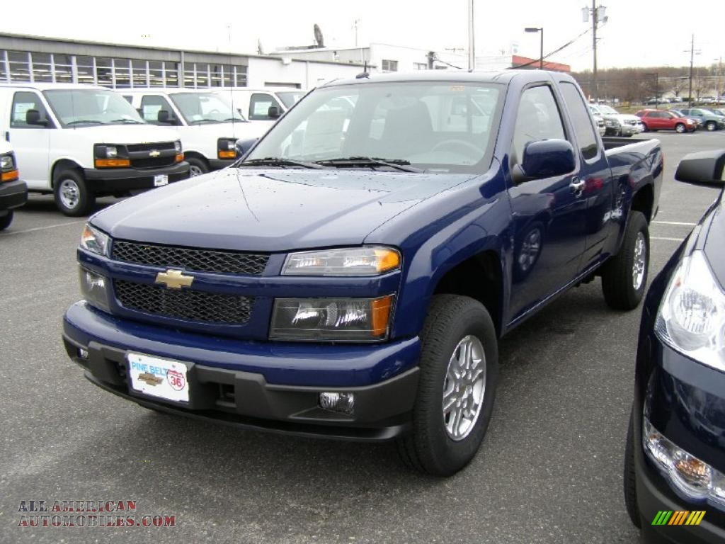 2011 chevrolet colorado lt extended cab 4x4 in deep navy. Black Bedroom Furniture Sets. Home Design Ideas