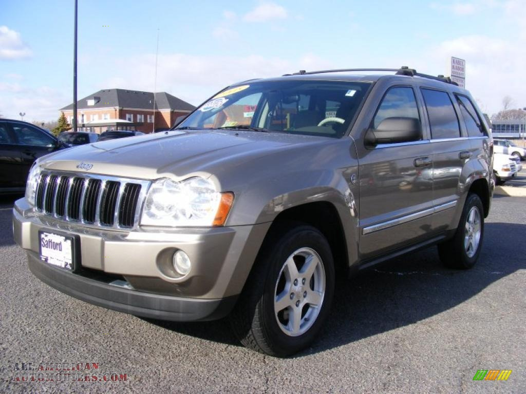 2005 jeep grand cherokee limited 4x4 in light khaki metallic 612231 all american automobiles. Black Bedroom Furniture Sets. Home Design Ideas