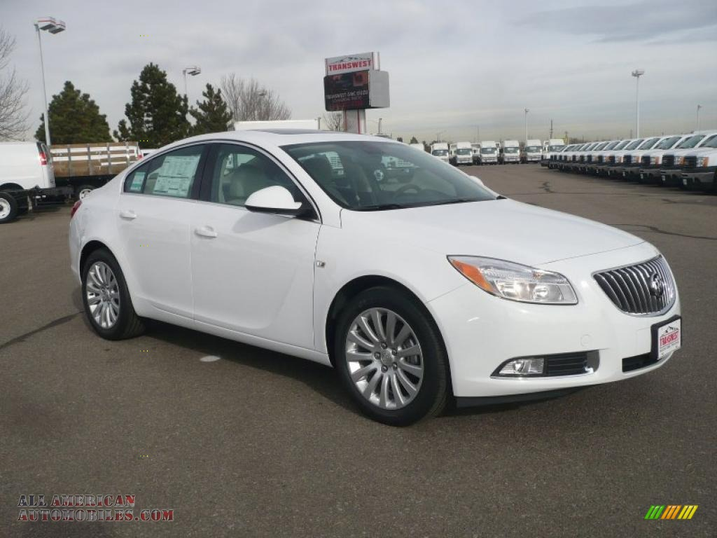 2011 Buick Regal Cxl In Summit White 037488 All