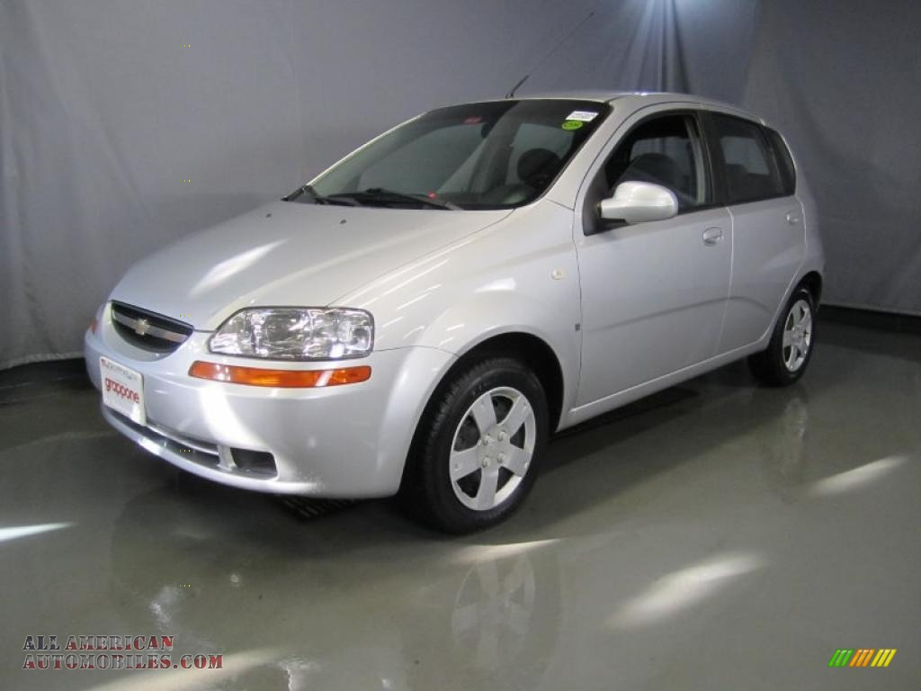 2007 chevrolet aveo 5 ls hatchback in cosmic silver. Black Bedroom Furniture Sets. Home Design Ideas