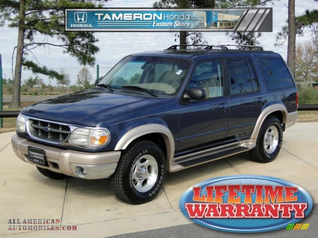1999 ford explorer eddie bauer in medium wedgewood blue metallic a16936 all american. Black Bedroom Furniture Sets. Home Design Ideas