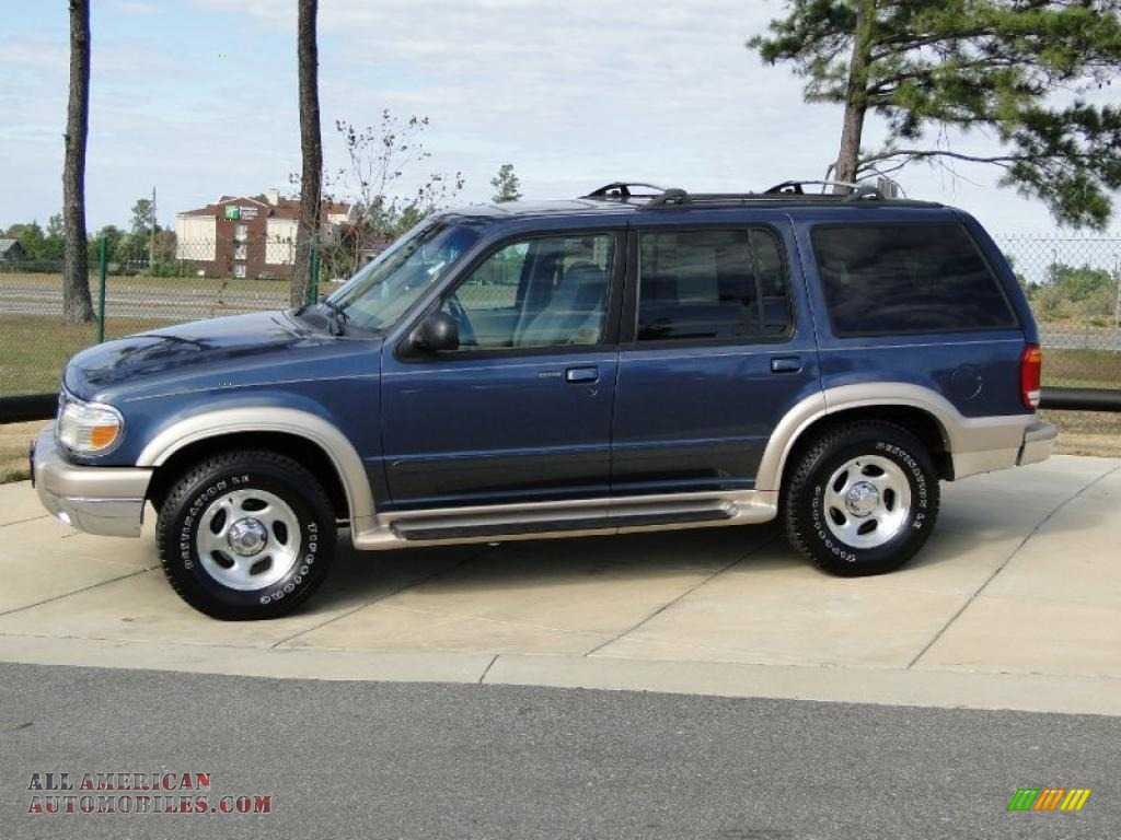 1999 ford explorer eddie bauer in medium wedgewood blue metallic photo 8 a16936 all. Black Bedroom Furniture Sets. Home Design Ideas