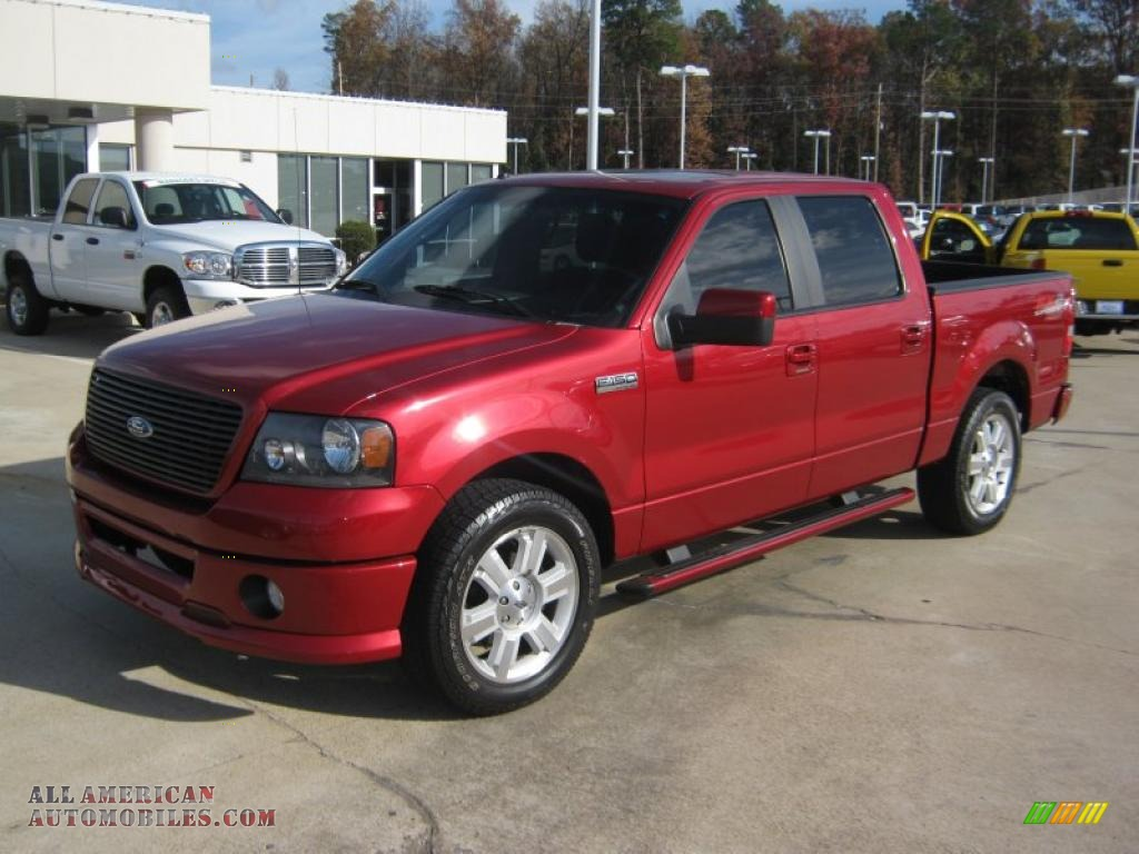 2007 ford f150 fx2 sport supercrew in redfire metallic photo 6 a88828 all american. Black Bedroom Furniture Sets. Home Design Ideas