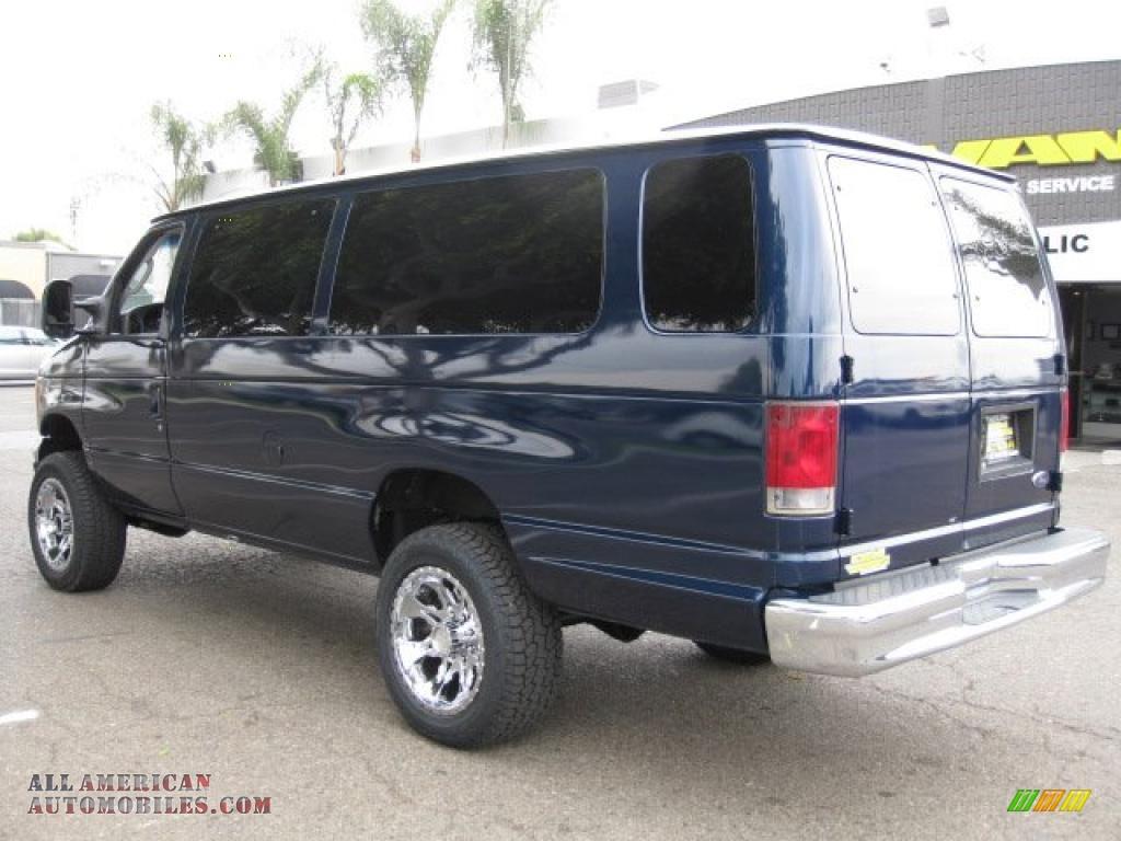 2004 Ford E Series Van E350 Super Duty XL Passenger 4x4 in True Blue ...