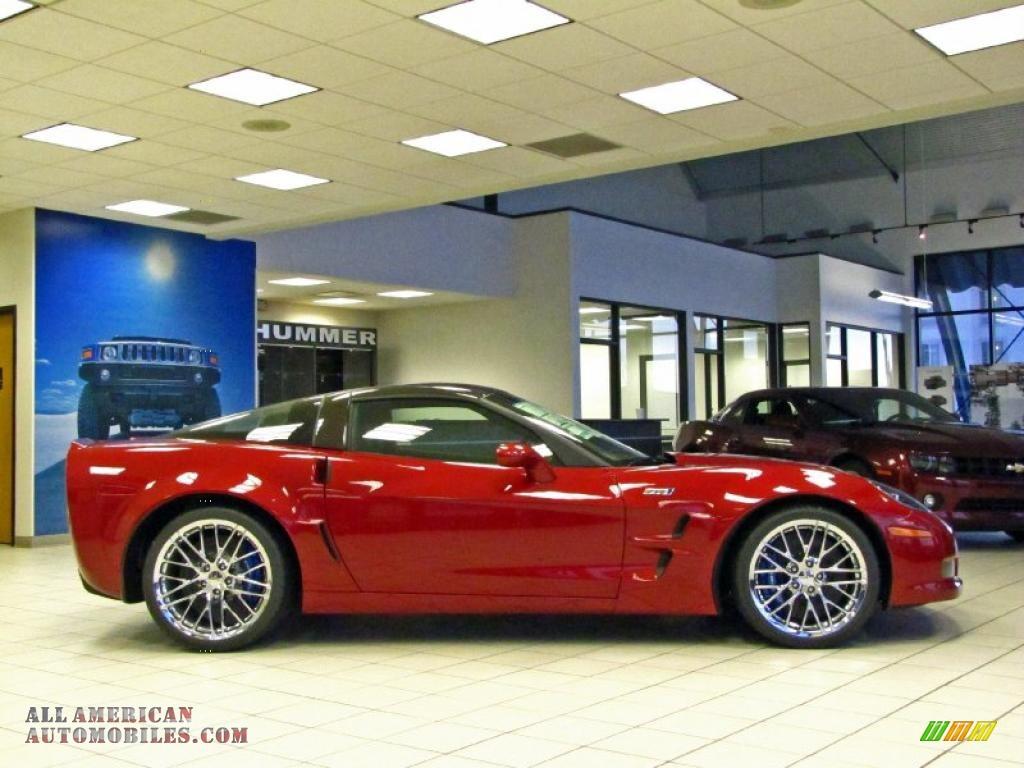 Crystal Red Tintcoat Metallic / Ebony Black Chevrolet Corvette ZR1