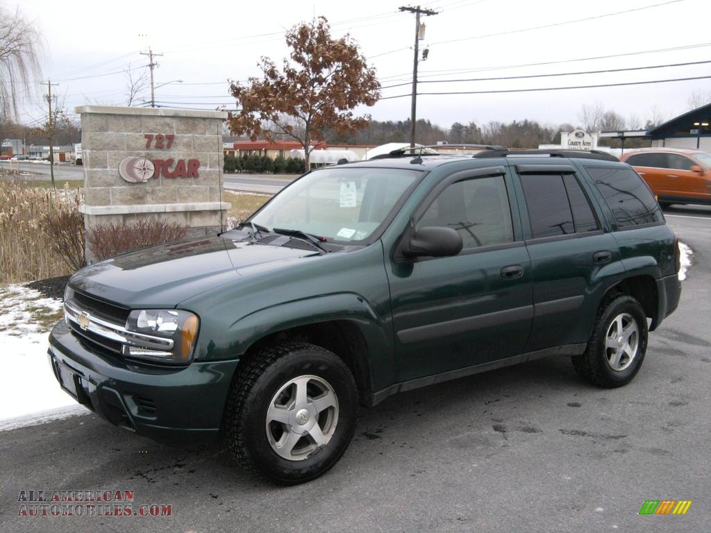2005 Chevrolet TrailBlazer LS 4x4 in Emerald Jewel Green ...