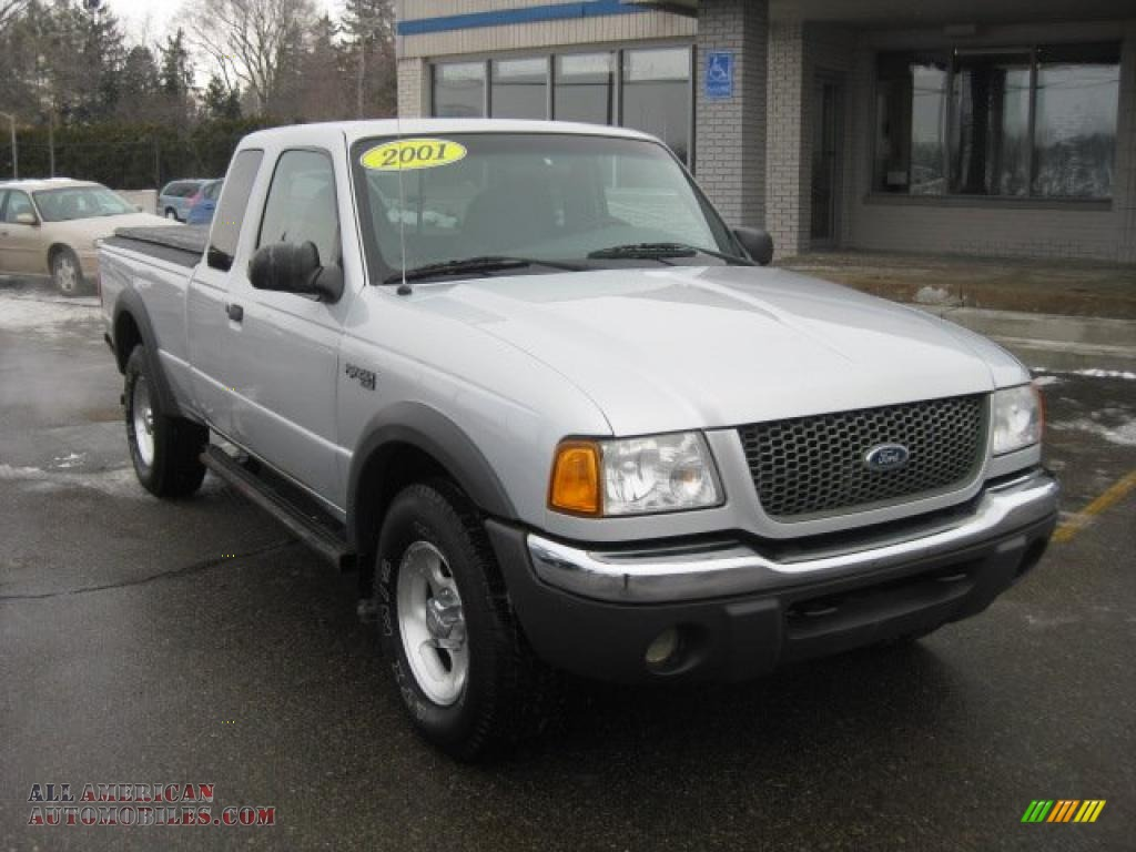 2001 ford ranger xlt supercab 4x4 in silver frost metallic a53852 all american automobiles. Black Bedroom Furniture Sets. Home Design Ideas
