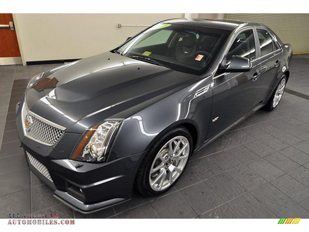 2010 cadillac cts v sedan in thunder gray chromaflair photo 3 147743 all american. Black Bedroom Furniture Sets. Home Design Ideas
