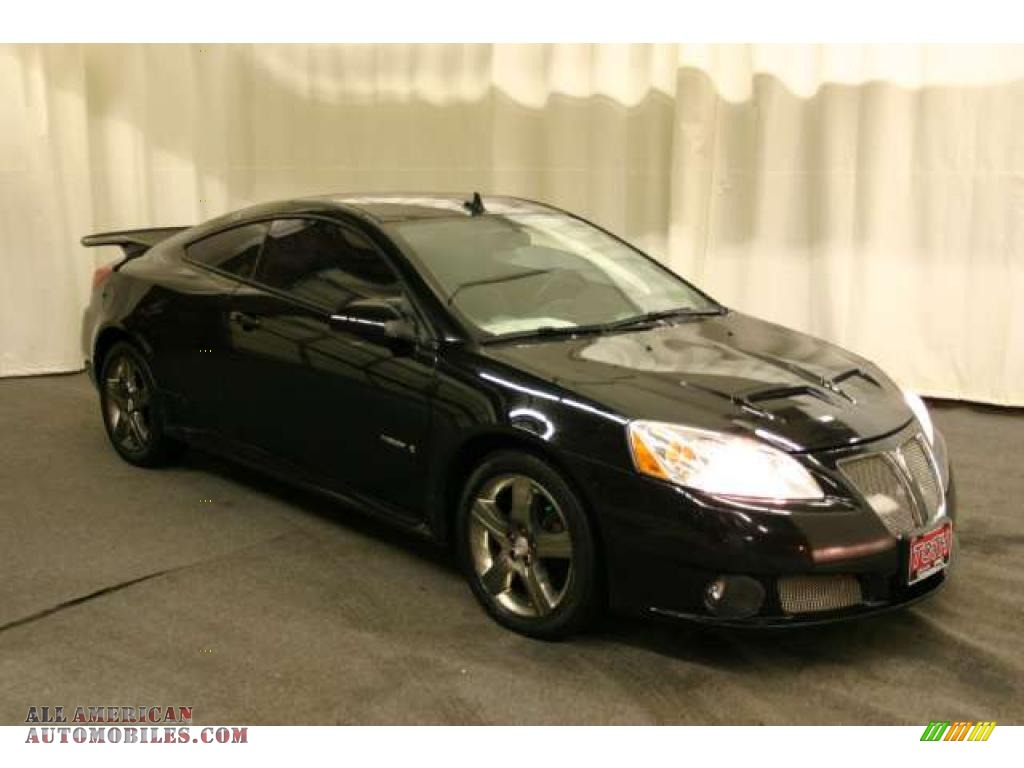 2008 Pontiac G6 Gxp Coupe In Black 169479 All American