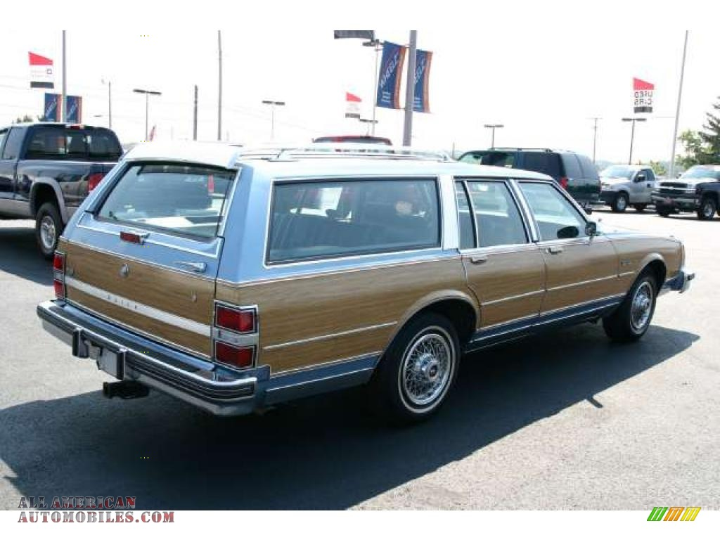 1988 Buick Electra Estate Wagon In Light Sapphire Blue