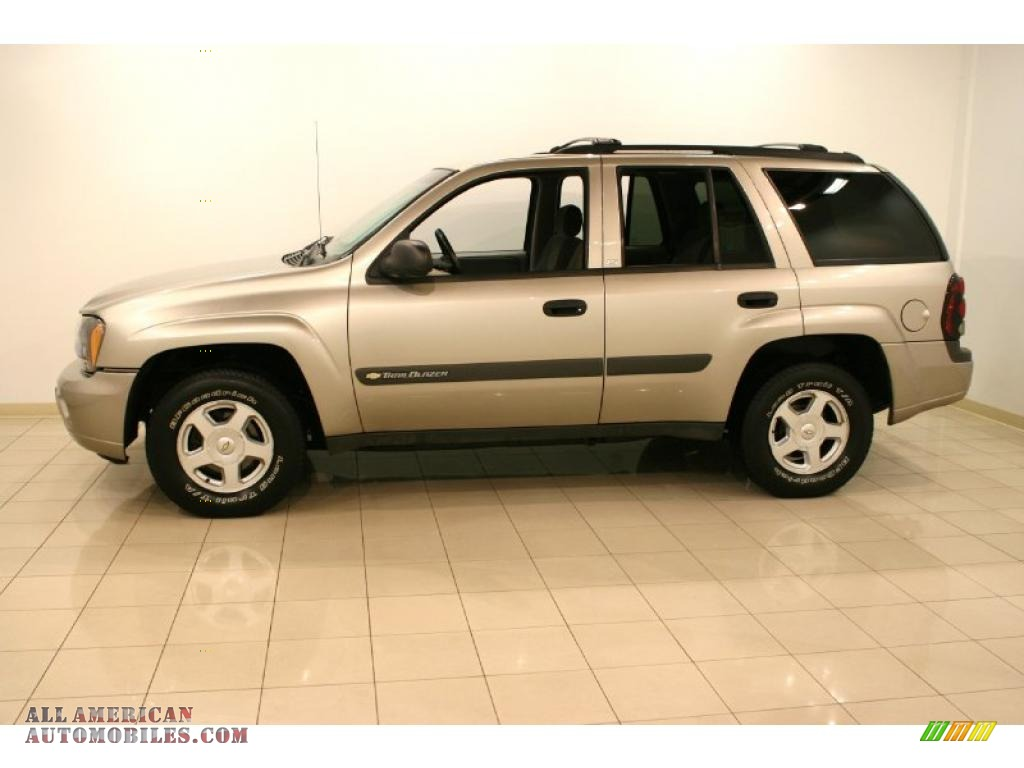 Classic Chevy Mentor >> 2003 Chevrolet TrailBlazer LS 4x4 in Light Pewter Metallic ...