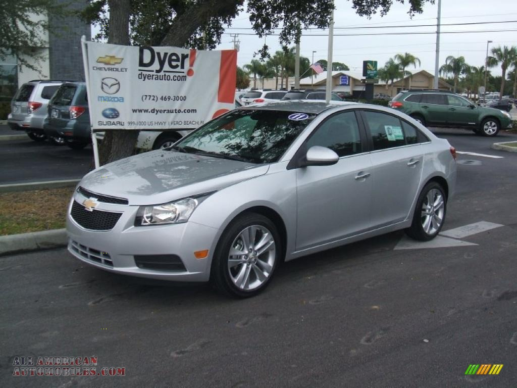 Tricked Out Chevy Cruze Silver Autos Post