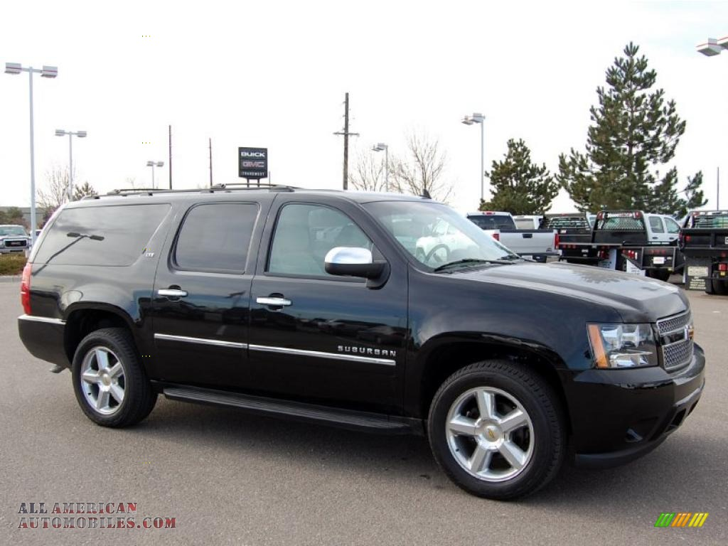 2010 chevrolet suburban ltz 4x4 in black 143435 all american automobiles buy american cars. Black Bedroom Furniture Sets. Home Design Ideas
