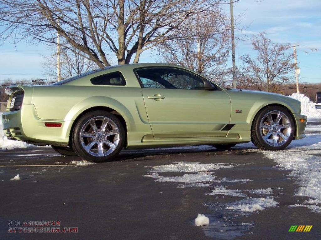 2005 ford mustang saleen s281 coupe in legend lime metallic photo 3 234005 all american. Black Bedroom Furniture Sets. Home Design Ideas