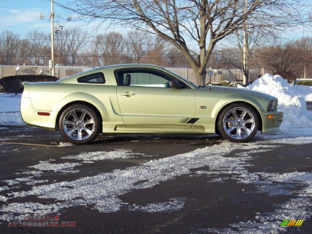 2005 ford mustang saleen s281 coupe in legend lime metallic photo 5 234005 all american. Black Bedroom Furniture Sets. Home Design Ideas