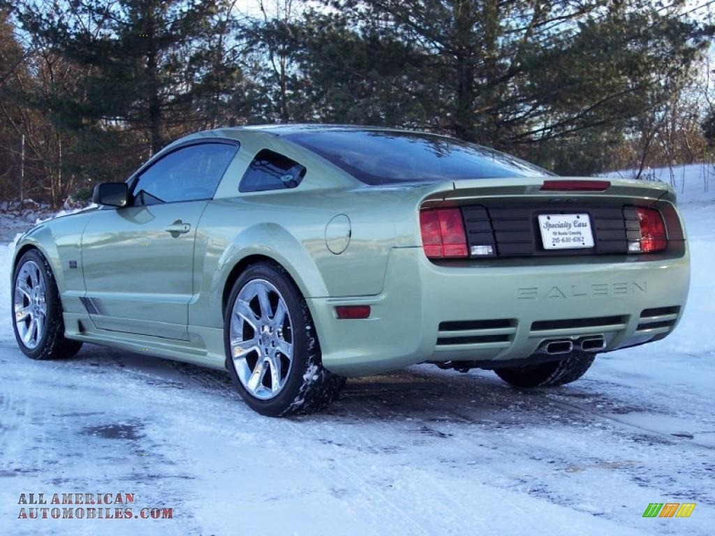 2005 ford mustang saleen s281 coupe in legend lime metallic photo 15 234005 all american. Black Bedroom Furniture Sets. Home Design Ideas
