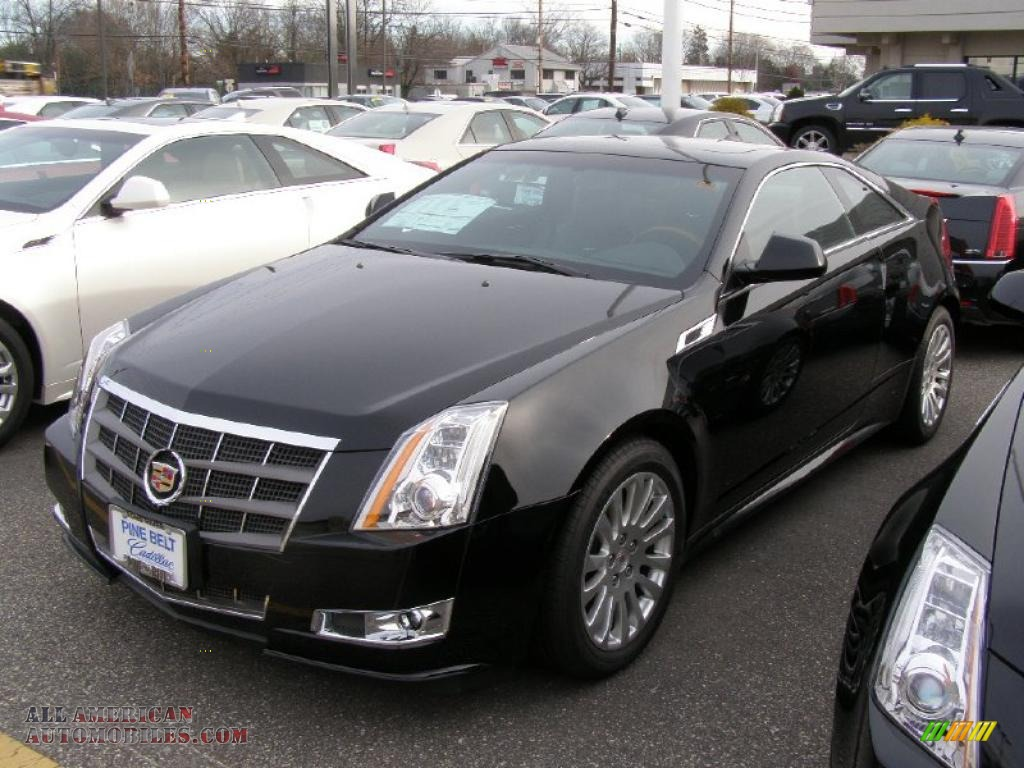2011 cadillac cts coupe in black raven 118378 all american automobiles buy american cars. Black Bedroom Furniture Sets. Home Design Ideas