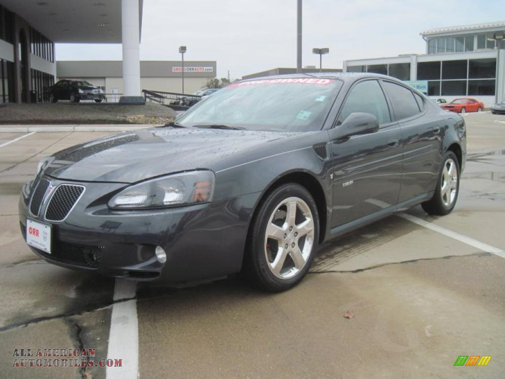 2008 Pontiac Grand Prix Gxp Sedan In Dark Slate Metallic