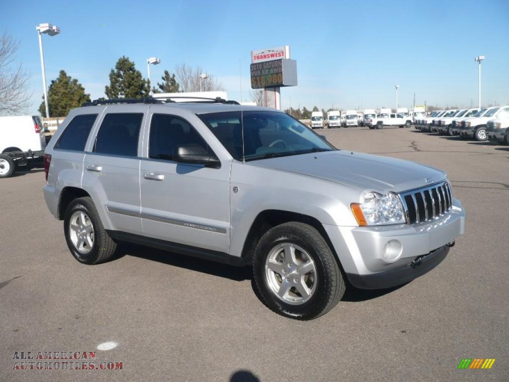 2005 Jeep Grand Cherokee Limited 4x4 In Bright Silver