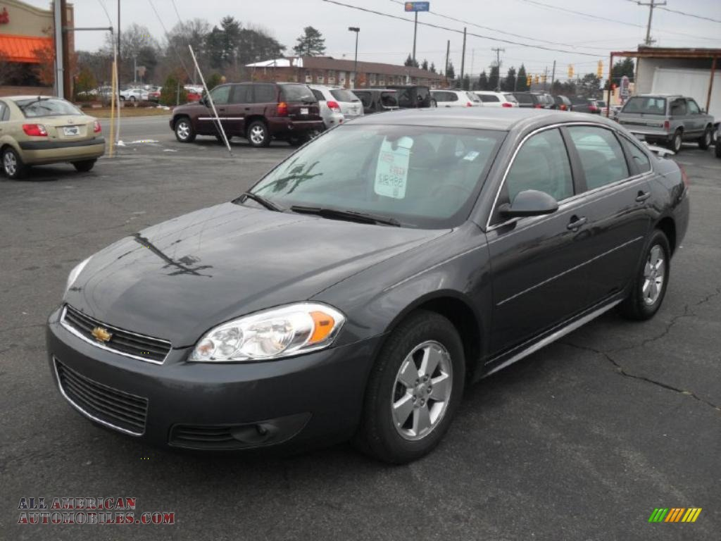 2010 Chevrolet Impala Lt In Cyber Gray Metallic 235180