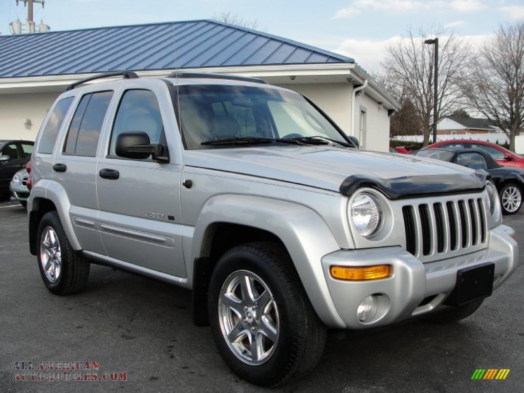 2003 jeep liberty limited 4x4 in bright silver metallic photo 8 632900 all american. Black Bedroom Furniture Sets. Home Design Ideas