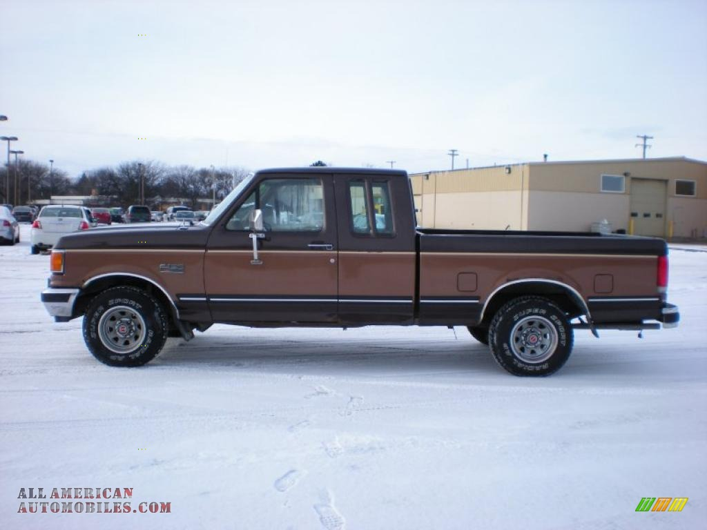 1989 ford f150 extended cab in dark chestnut brown photo 8 a47042 all american automobiles. Black Bedroom Furniture Sets. Home Design Ideas