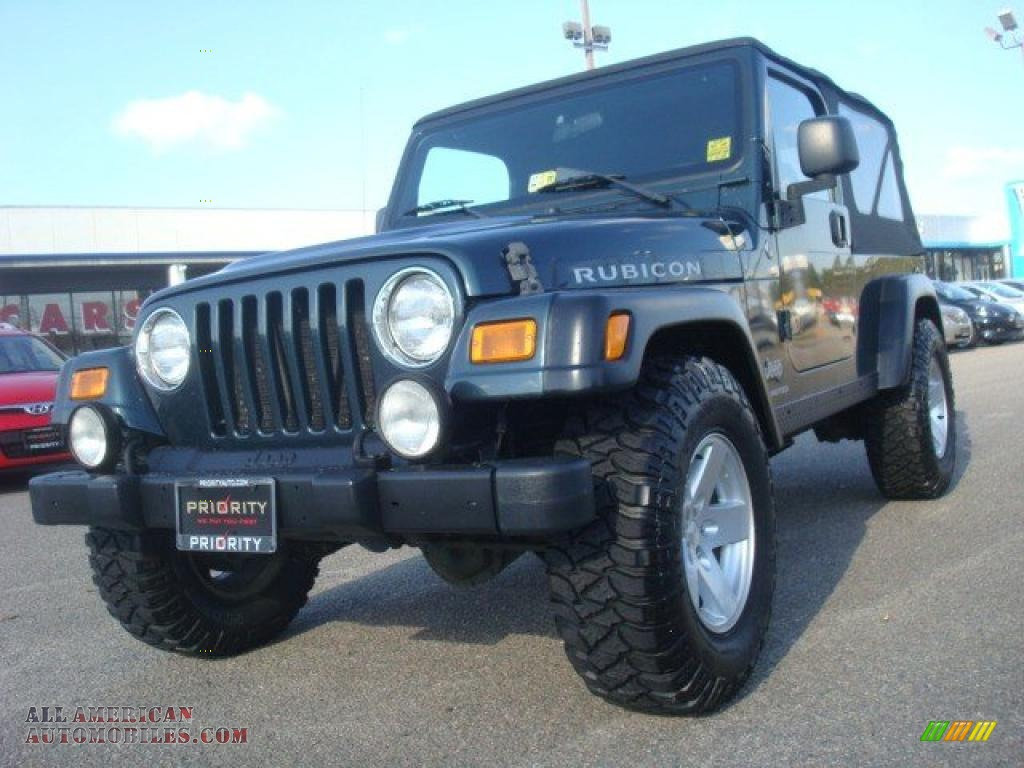 2006 jeep wrangler unlimited rubicon 4x4 in deep beryl. Black Bedroom Furniture Sets. Home Design Ideas