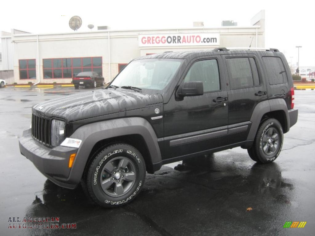 2011 Jeep Liberty Renegade 4x4 In Brilliant Black Crystal