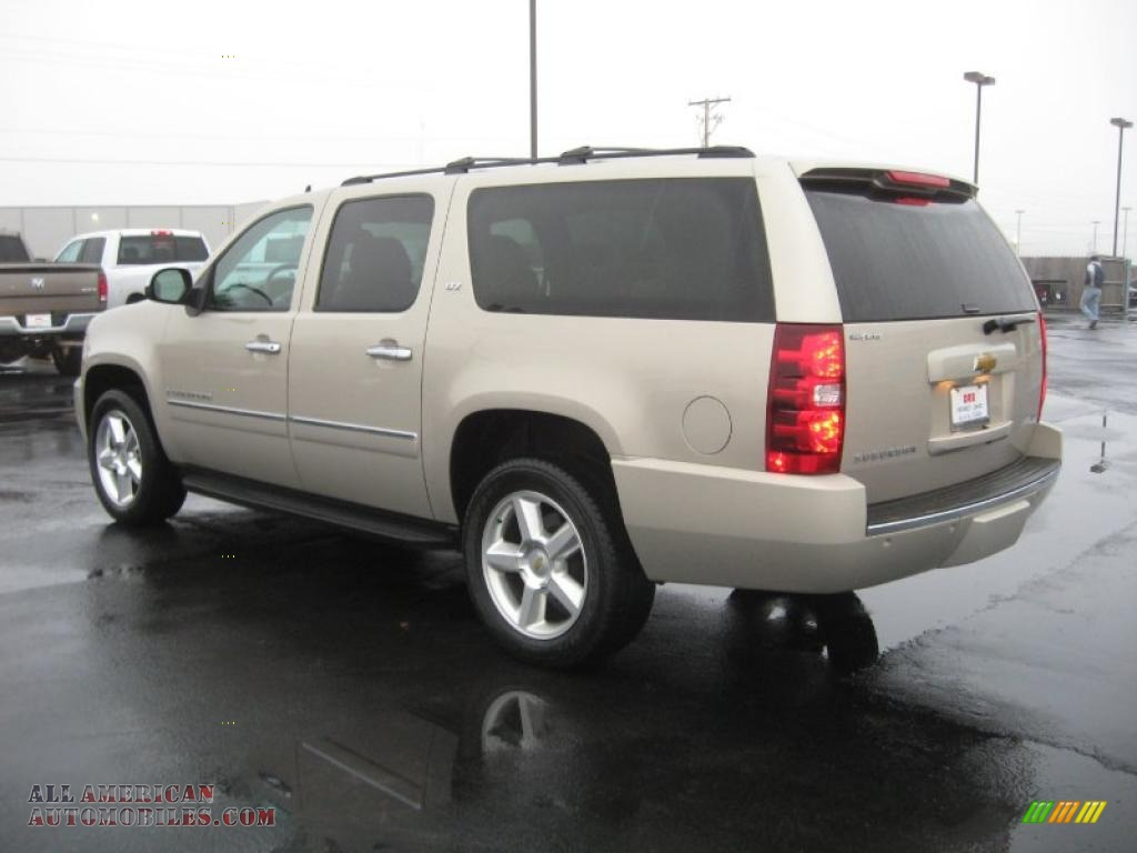 2009 chevrolet suburban ltz 4x4 in gold mist metallic. Black Bedroom Furniture Sets. Home Design Ideas