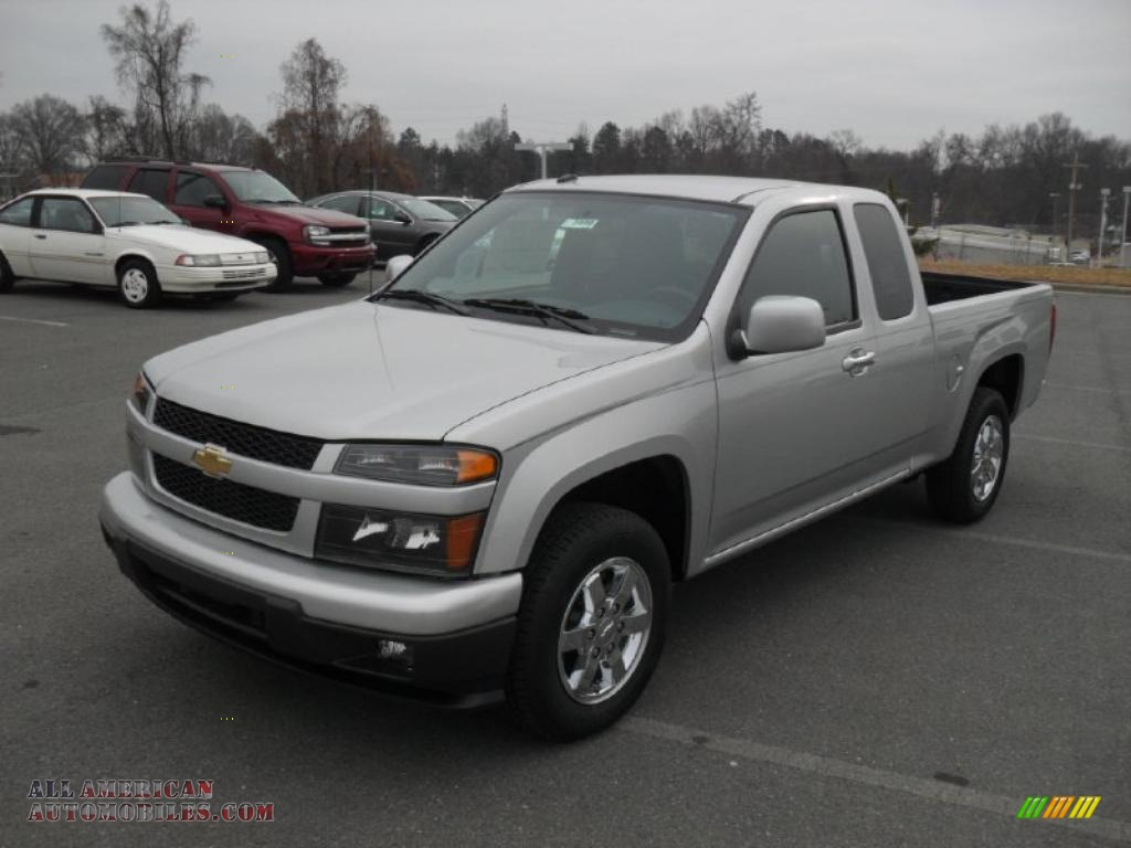 2011 chevrolet colorado lt extended cab in sheer silver metallic 117206 all american. Black Bedroom Furniture Sets. Home Design Ideas