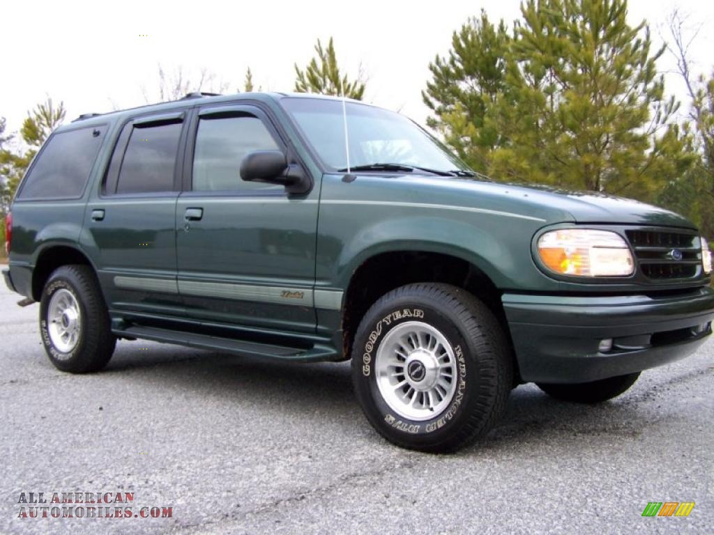 1998 ford explorer limited in charcoal green metallic. Black Bedroom Furniture Sets. Home Design Ideas