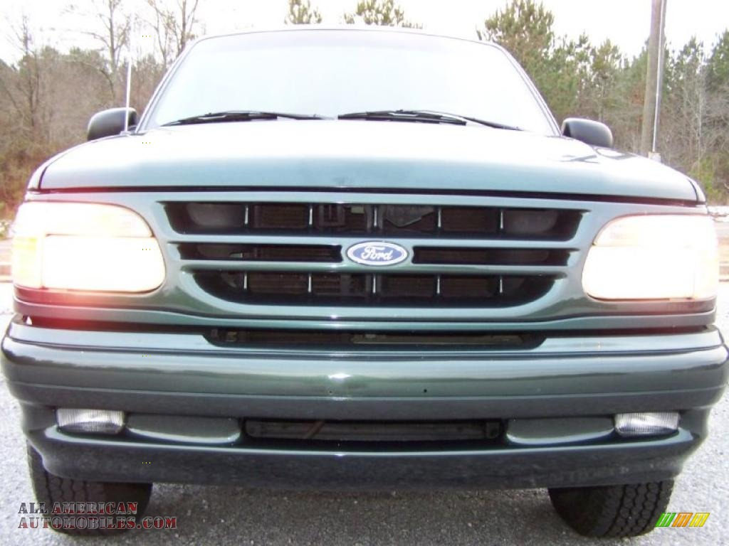 Classic Gmc Carrollton >> 1998 Ford Explorer Limited in Charcoal Green Metallic ...