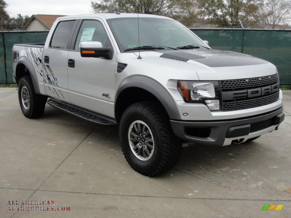2011 ford f150 svt raptor supercrew 4x4 in ingot silver metallic photo 3 a26562 all. Black Bedroom Furniture Sets. Home Design Ideas