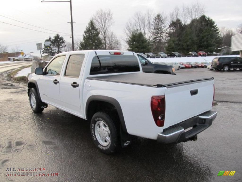 2004 chevrolet colorado ls crew cab 4x4 in summit white photo 3 221144 all american. Black Bedroom Furniture Sets. Home Design Ideas
