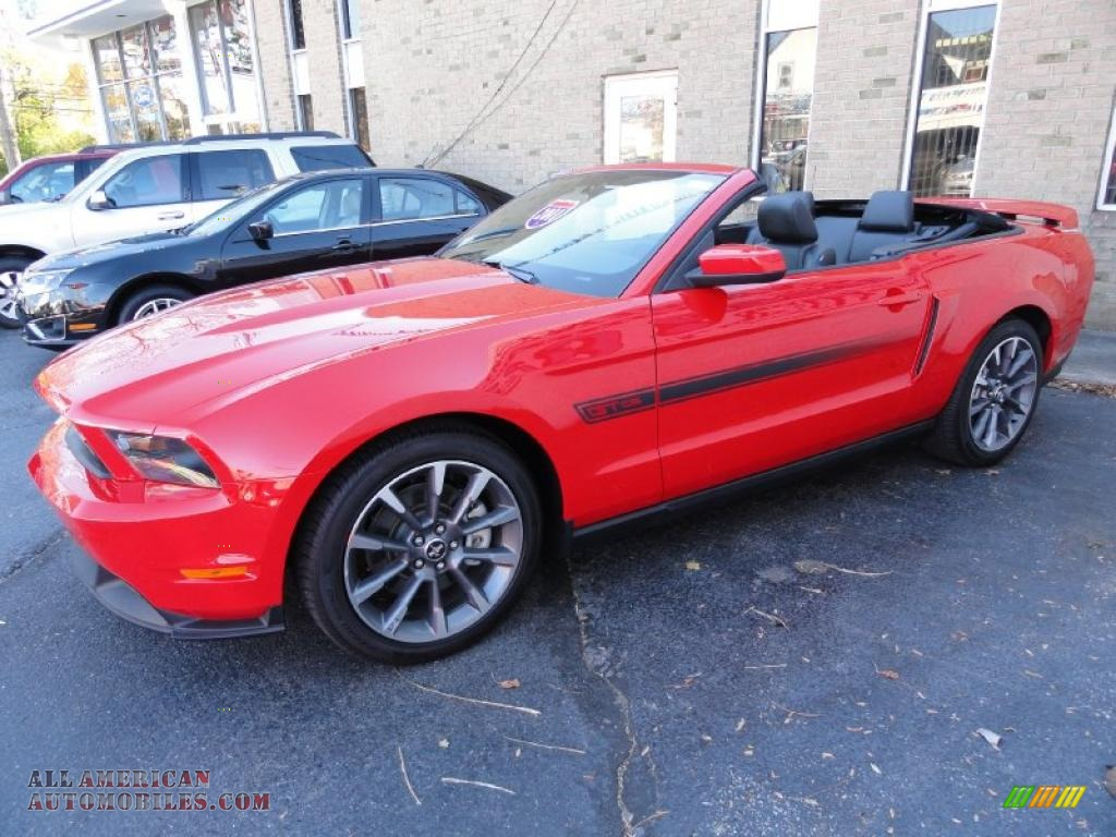 2011 ford mustang gt cs california special convertible in race red photo 5 101652 all. Black Bedroom Furniture Sets. Home Design Ideas