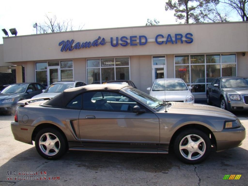 2001 Ford Mustang V6 Convertible in Mineral Grey Metallic - 211302 ...
